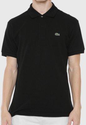 Camisa Polo Live Preta - Lacoste