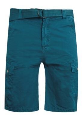 Bermuda Sarja FiveBlu Cinto Amarração Azul