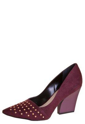 Sapato Scarpin Pink Connection Hotfix Vinho