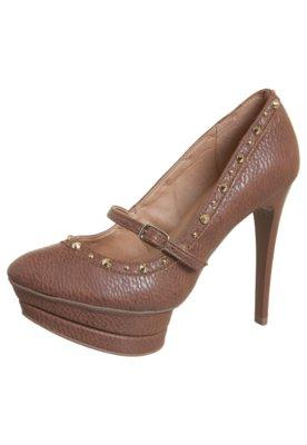 Sapato Scarpin SPikes Marrom - Pop Touch