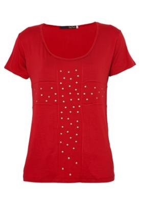 Blusa Pop Touch Cross Vermelha