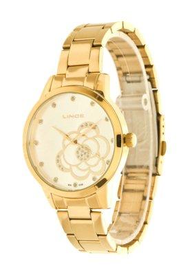 Relógio Lince LRG4178L S1KX Dourado