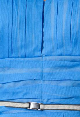 Vestido Forum Imperio Azul