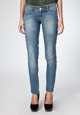 Calça Jeans Coca-Cola Edna Skinny Azul - Coca Cola Clothing
