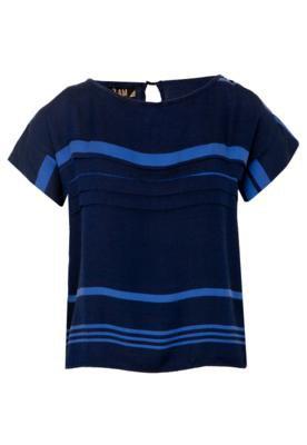 Blusa Camadas Azul - 3:AM