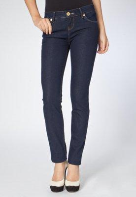 Calça Jeans Triton Skinny Slim Fatima Azul