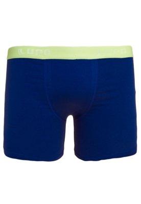 Cueca Lupo Boxer Alencar Azul
