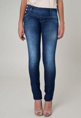 Calça Jeans Sawary Skinny Active Azul
