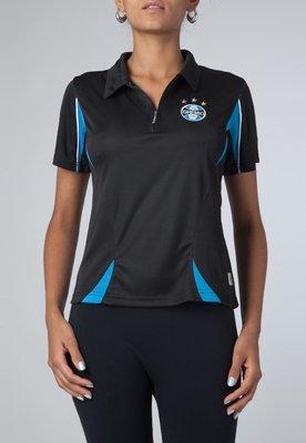 Camisa Polo Dry Grêmio II Preta - Licenciados Futebol