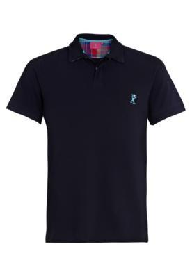 Camisa Polo Vicomte A. Clean Azul