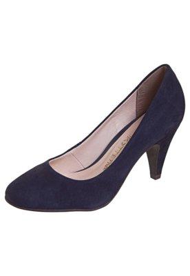 Sapato Scarpin Salto Médio Azul - Bottero