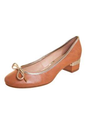Sapato Scarpin Anna Flynn Mary Marrom