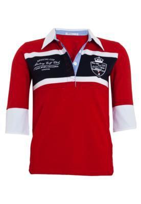 Camisa Polo Aleatory Original Vermelha