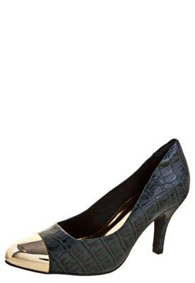 Sapato Scarpin Anna Flynn Fashion Modern Azul