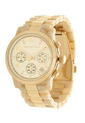 Relógio Michael Kors OMK5139Z Dourado/Bege