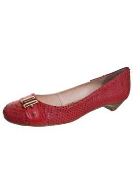 Sapato Scarpin Bottero Saltinho Ferragem Vermelho