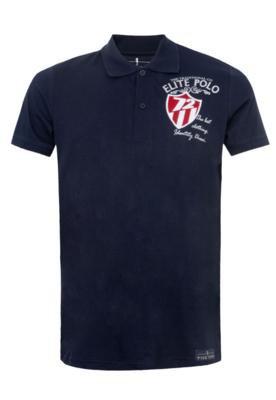 Camisa Polo Pier Nine Authentic Azul