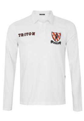 Camisa Polo Triton Peru Acqua Branca