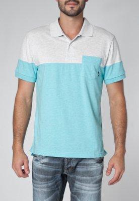 Camisa Polo Nike Pocket Jersey SPort Azul