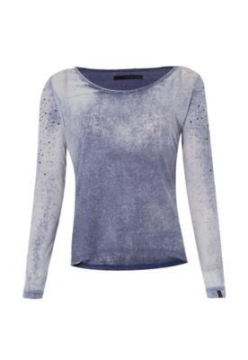 Blusa Calvin Klein Jeans Luxo Azul