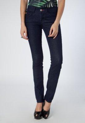 Calça Jeans Coca-Cola Clothing Skinny Edna 2 Clean Azul - C...