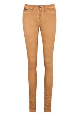 Calça Calvin Klein Jeans Color Skinny Bege