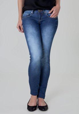 Calça Jeans Sommer Grace Fivela Skinny Azul