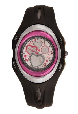 Relógio Cosmos OS48658P Preto