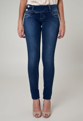 Calça Jeans Sawary Skinny Like Azul