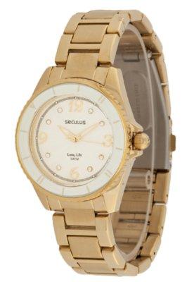 Relógio Seculus 28062LPSLDA1 Dourado