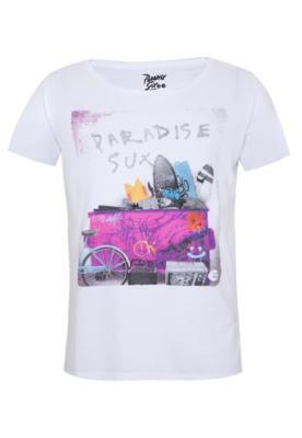Camiseta Billabong Slim Dumpster Branca