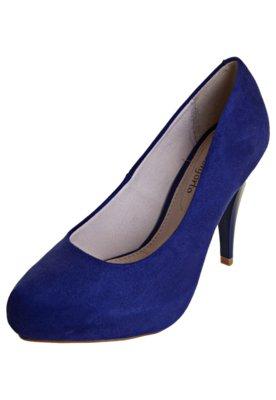 Sapato Scarpin Conforto Classic Azul  - Beira Rio