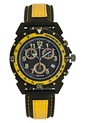 Relógio Sector WS32007Y Preto/Amarelo