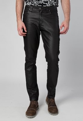 Calça Jeans Reta Ebano Elastic Boy Preta - Cavalera