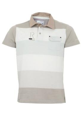 Camisa Polo Gangster Natura Off-white