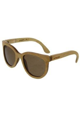 Óculos Solar Madeira Notiluca Sinhá Bege