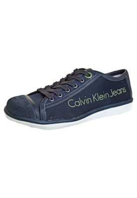 Tênis Calvin Klein Trama Azul