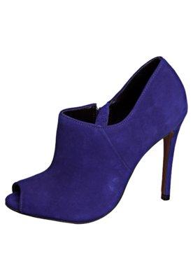 Ankle Boot Carrano Nobuck Azul