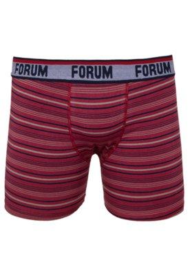 Cueca Boxer Forum Lima Vermelha