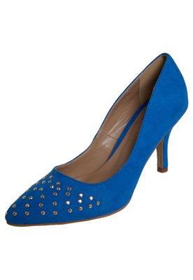 Sapato Scarpin Pink Connection Hotfix Azul