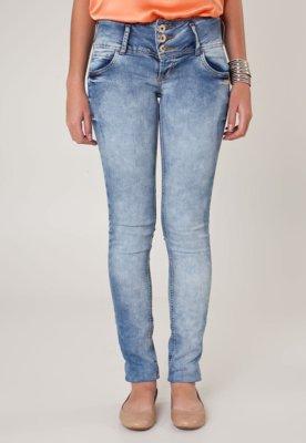 Calça Jeans Colcci Skinny Metais Azul