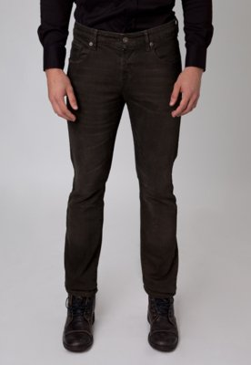 Calça Jeans Rockstter Color Denim Marrom
