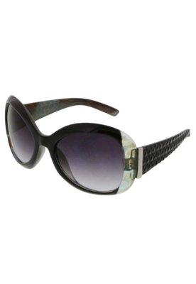 Óculos de Sol Anna Flynn Diamond Preto