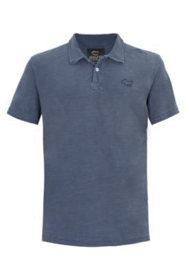 Camisa Polo Huck Basic Azul