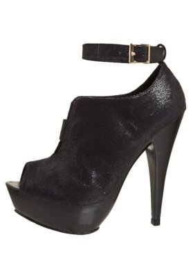 Ankle Boot Metal Preto - Lilly's Closet