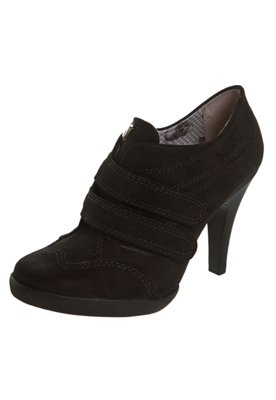 Ankle Boot Velcro Preta - Miucha