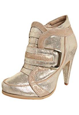 Ankle Boot Tanara Lumine Dourada
