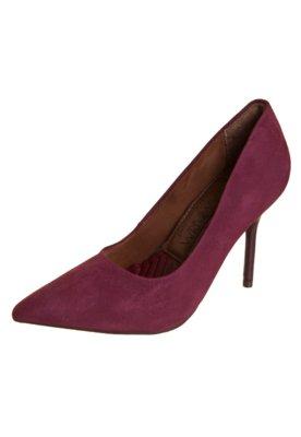 Sapato Scarpin Ramarim Bico Fino Vinho