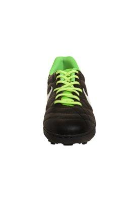 Chuteira Society Tiempo Natural IV LTHR TF Preta - Nike