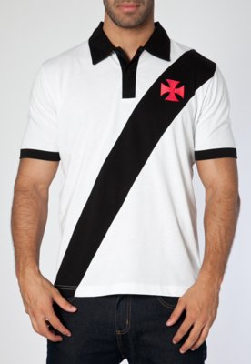 Camisa Polo Penalty Vasco Retrô Branca